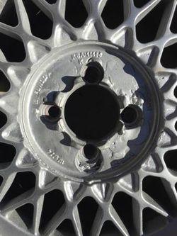 BBS 4x100 15x7 Basketweave Wheels Thumbnail