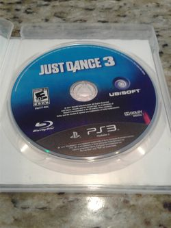 PS3 JUST DANCE VIDEO GAME $5.00 Thumbnail