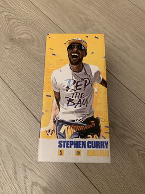 Limited Edition Stephen Curry Bobblehead Golden State Warriors 10/8/18 Preseason Giveaway First 10K Fans for Sale in San Francisco, CA