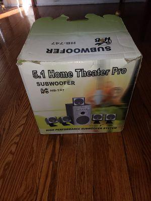 Home Theater Pro Subwoofer for Sale in Washington, DC