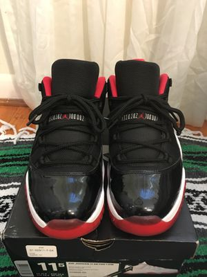 Air Jordan 11 Low Bred Size 12 for Sale in Annandale, VA