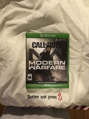 Photo XBOX ONE Call of Duty Modern Warefare