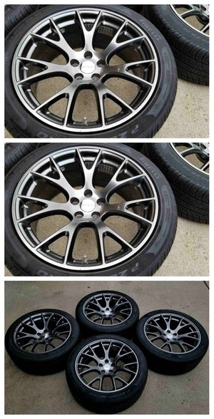 "20"" Dodge Challenger Charger OEM HYPERBLACK Rims+Tires for Sale in St. Louis, MO"