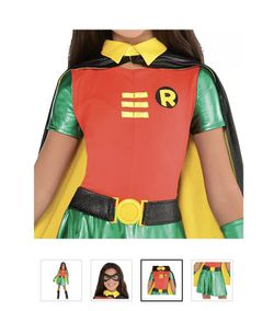 Girl Robin Costume  Thumbnail