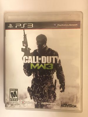 PlayStation 3 Call of Duty MW3 PS3 for Sale in San Francisco, CA