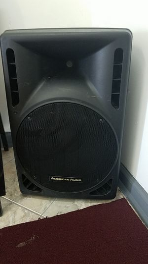 Speaker good price only ask for 75 dollars. 115 - 230 volts, PXI 15P AMERICAN AUDIO for Sale in Miami, FL