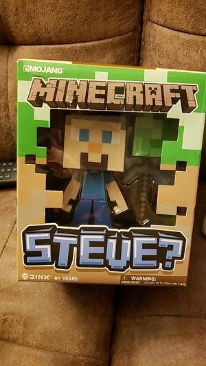 Minecraft steve for Sale in Rockville, MD