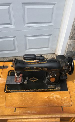 Vintage Singer sewing machine and extras for Sale in Boston, MA