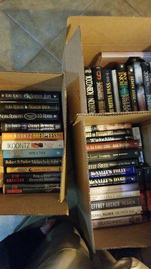 42 Hardcover w/a few Paperback Popular Fiction for Sale in Phoenix, AZ