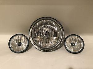 Harley Davidson Ultra Classic Headlight & Spot Lights for Sale in Warrenton, VA