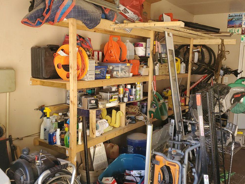 Garage Shelveing