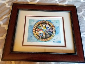 Andrea Smith painting love light peace for Sale in Chandler, AZ