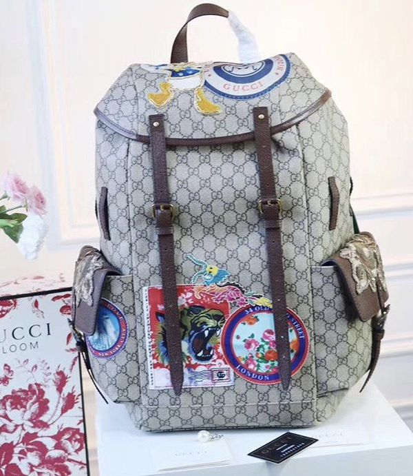 New GUCCI Courier Soft GG Supreme Backpack for Sale in Queens bd9fa256e6bd3