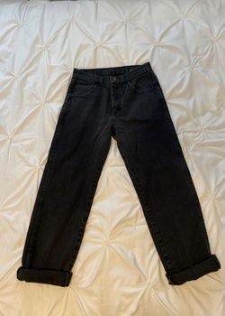 High rise mom jeans Thumbnail