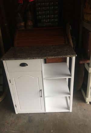 Granite top kitchen island/whatever you want to use it for for Sale in Deer Park, TX