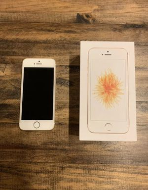 Apple iPhone SE 128GB GSM Unlocked AT&T / T-Mobile - simple mobile Sprint for Sale in Spencerville, MD