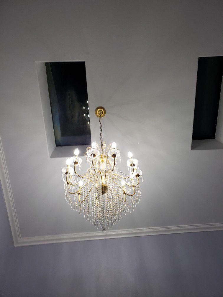 12 Light Chandelier