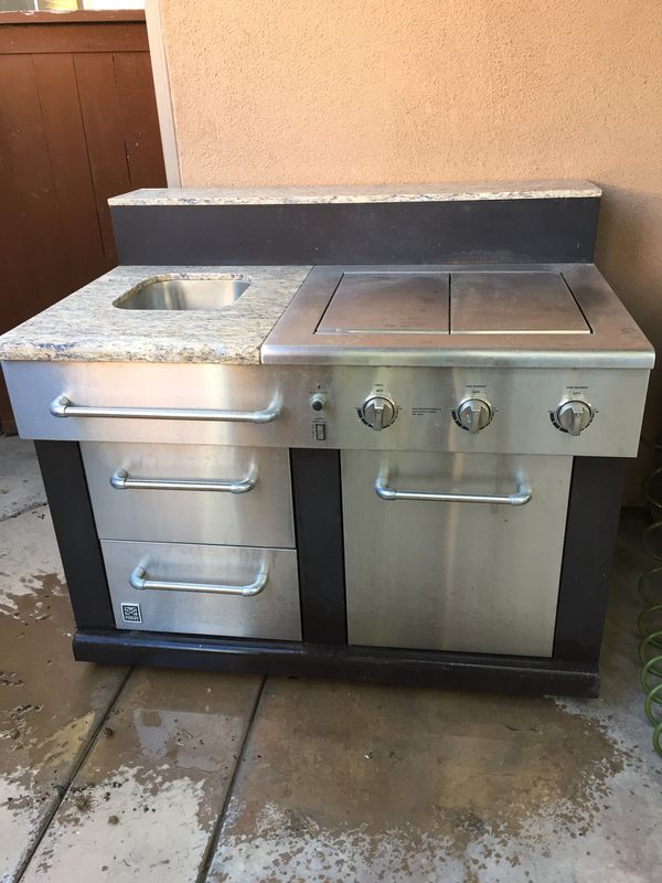 Master Forge Modular Outdoor Kitchen 3 Burner Bg179c Modular Sink
