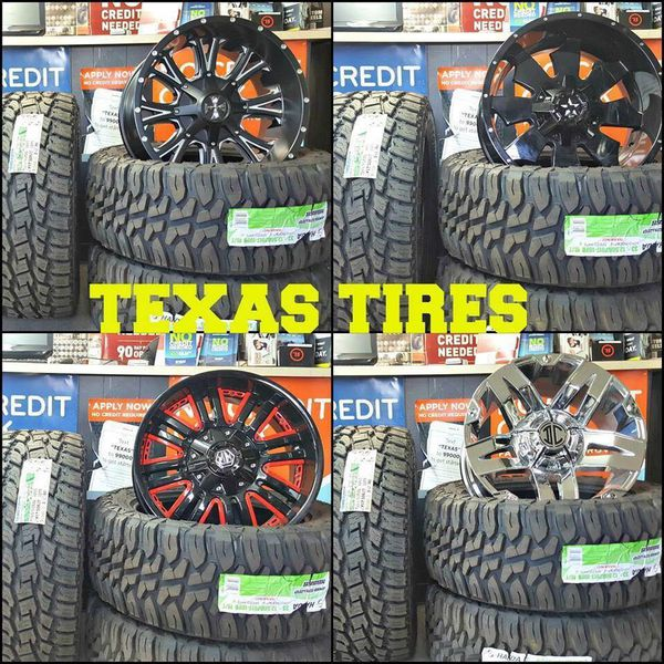 Wheels Tires Lifts Drops And More For Sale In Beaumont, TX