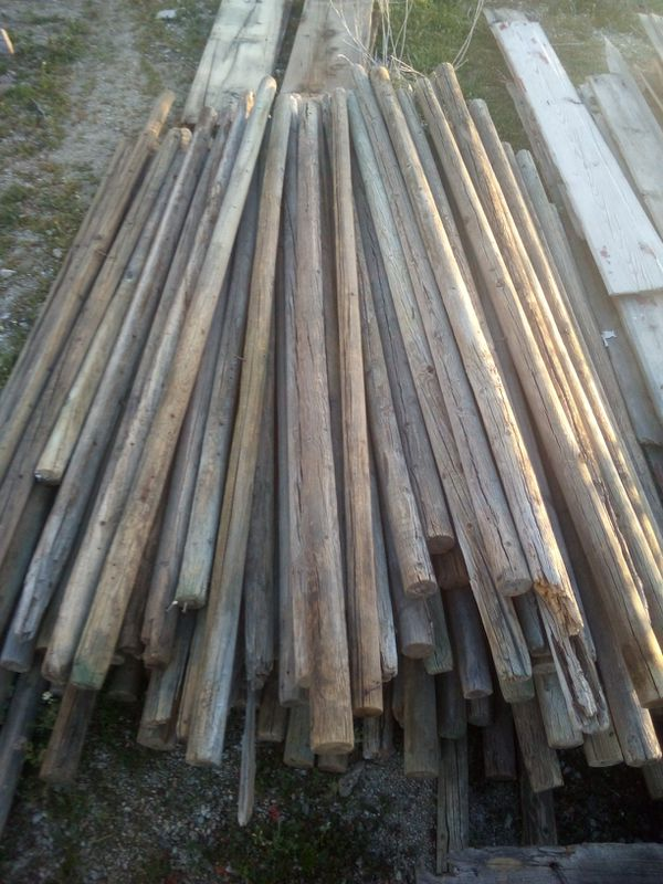 Antique/ Vintage Wood Poles for Sale in Helendale, CA - OfferUp