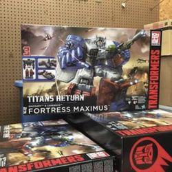 Titans Returns Fortress Maximus New Thumbnail