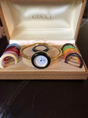 Photo Retro Vintage Gucci Watch