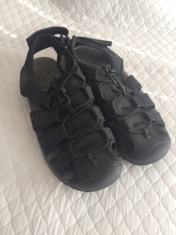 a568c90125e6 Khomba black leather men s sandals sz 9 NOW  10 for Sale in ...