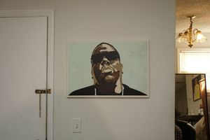 Biggie canvas wall art for Sale in Atlanta, GA