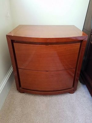 Cherry Wood Nightstand for Sale in Vienna, VA