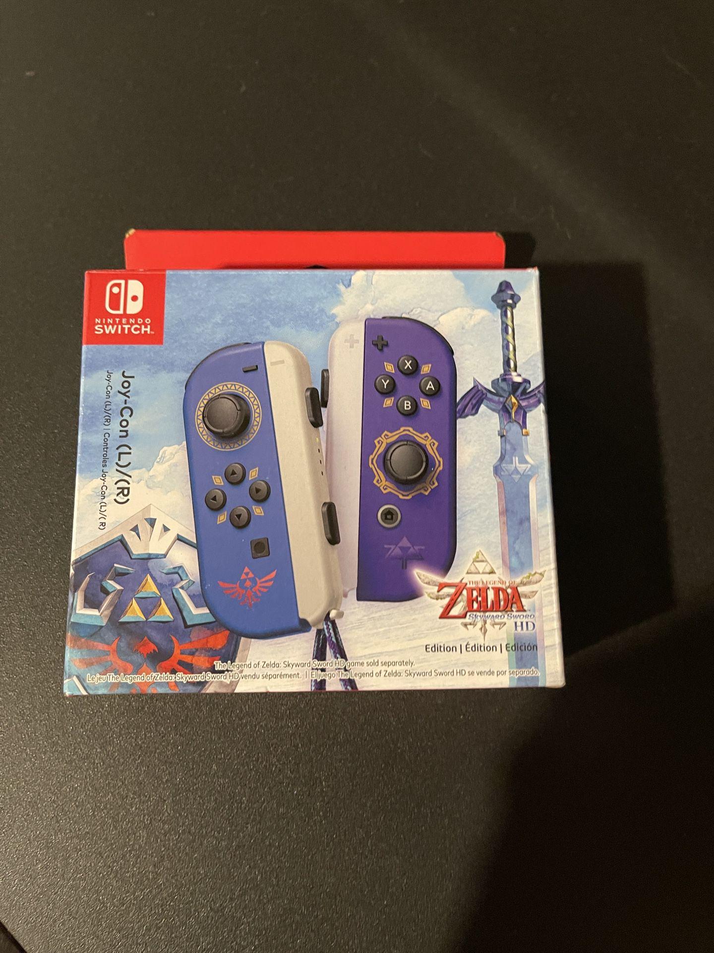 Zelda Skyward Sword Nintendo Switch Joycons
