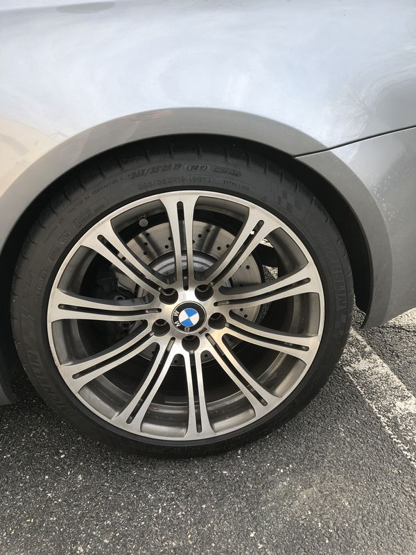 Bmw M3 19 Inch Wheels And Tires For Sale In Rockville Md Offerup