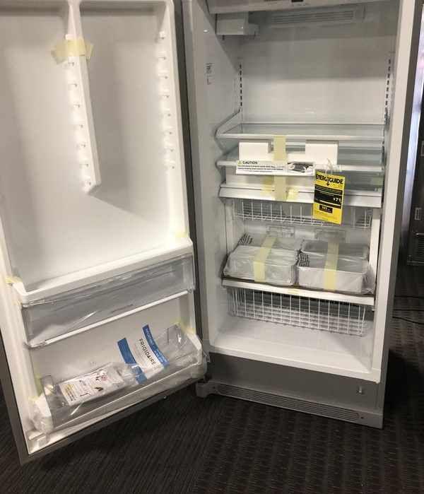 Brand New Frigidaire standing Freezer 4I