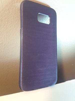 Photo Case For Samsung Galaxy S7 Android Cell Phone **Gloss Purple **