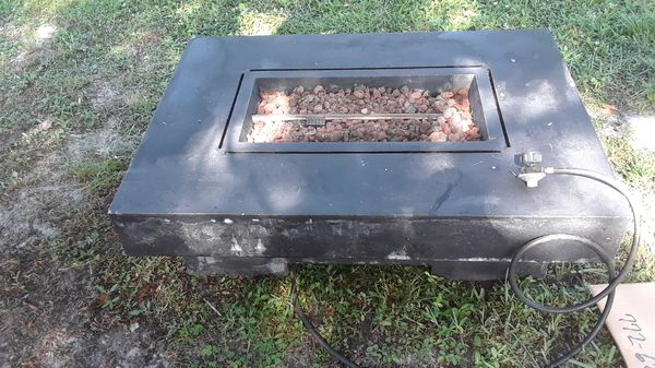 Propane Fire Pit Gas Grill With Lid For Sale In Port St