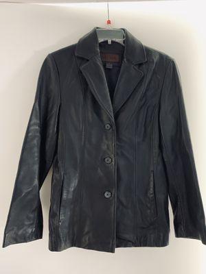 d47660125 Black Leather blazer / jacket - Siena size 6 for Sale in Miami, FL