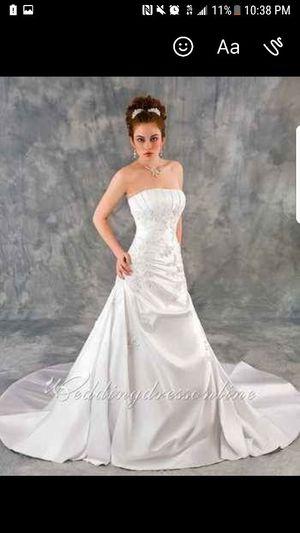 Brand New Beautiful White Wedding Dress Never Worn For In Houston Tx