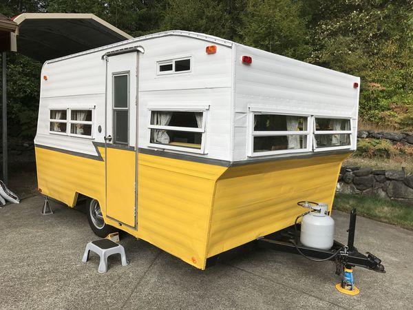 Vintage Trailer (1968 Aristocrat Travelier) for Sale in Port Orchard, on vintage motorhomes, vintage mobile homes from the 50s, vintage double-decker mobile homes, vintage trailers,