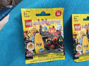 Lego mini figures 4 pack for Sale in Riverbank, CA