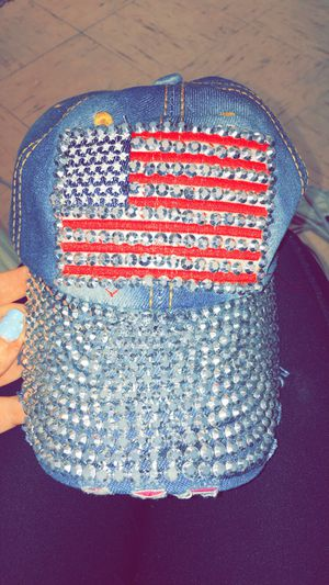 Bedazzled Flag Hat for Sale in Washington, DC