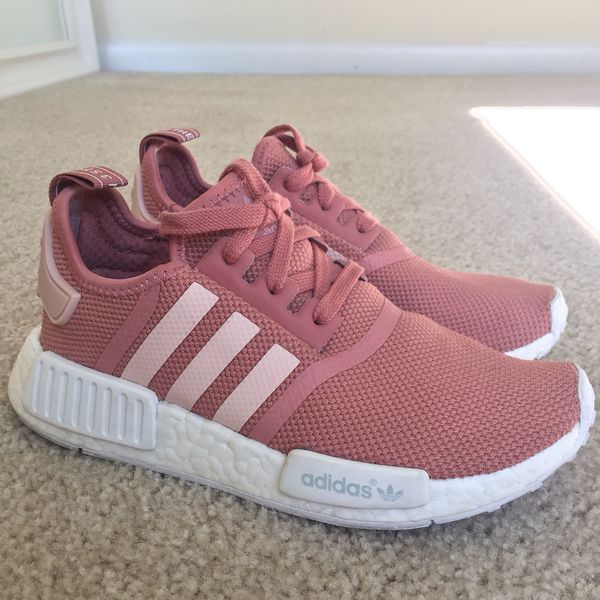 "new concept 21fe9 26316 Adidas NMD R1 ""Raw Pink"" WOMEN US 5.5 for Sale in Sunnyvale, CA - OfferUp"