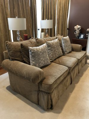 Sofa, oversized chair and ottoman for Sale in Leesburg, VA