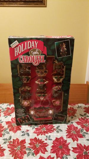 Holiday carousel for Sale in Bunker Hill, WV