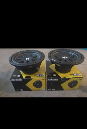 Photo 2 Kicker 10 inch Subs C10 (Brand New)