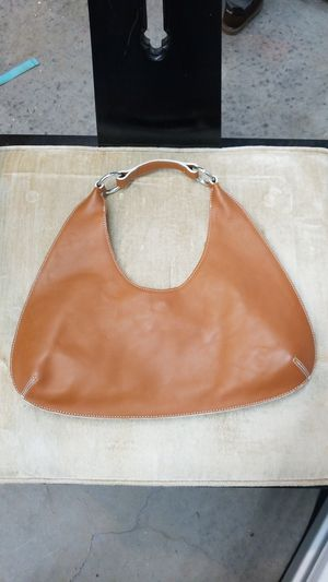 Vintage banana republic like new tan cutout purse for Sale in Seattle, WA