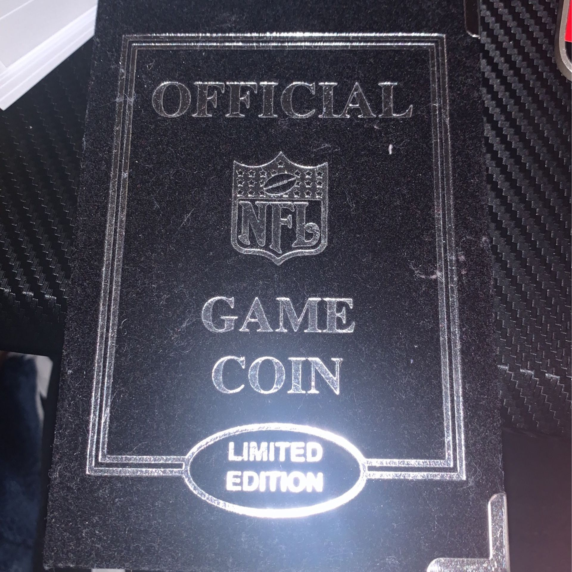 Game Coin For Patriots Vrs Rams