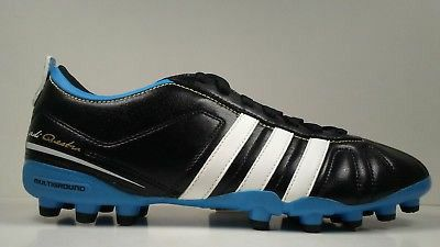 567097772 Rare 2011 Adidas AdiQuestra IV MG G40711 Black Blue Mens Soccer Cleats Size  9.5 size 10 size 10.5 for Sale in Bakersfield
