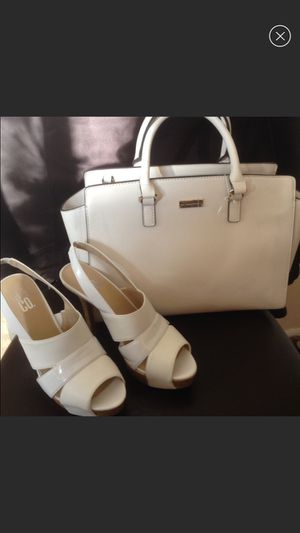 New heels & handbag/ size 8 1/2 for Sale in Crownsville, MD