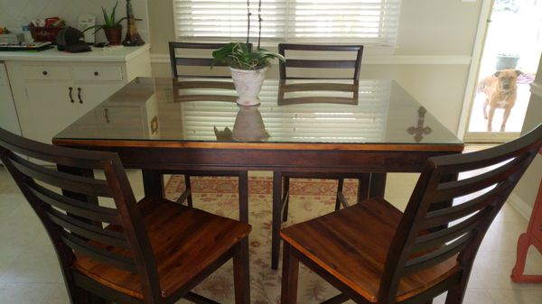Kitchen or dining room table with leaf for Sale in Smithfield, NC ...
