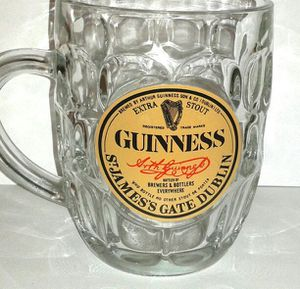 GUINNESS St. James Gate Glass Pint Mug for Sale in Silver Spring, MD
