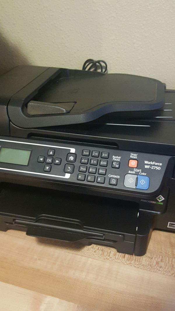 Epson, workforce we 2750  wifi  all in one printer for Sale in Portland, OR  - OfferUp